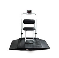 Duel Ramp Wheelchair Scales (with Chair Seat)