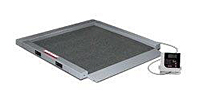 34 x 34 Inch (in) Platform Dimensions Dual Ramp Wheelchair Scale