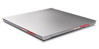 RoughDeck HE Hostile Environmental Stainless Steel Low-Profile Floor Scales