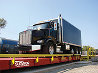Survivor OTR Truck Scales - Steel Deck - 11 Foot Width